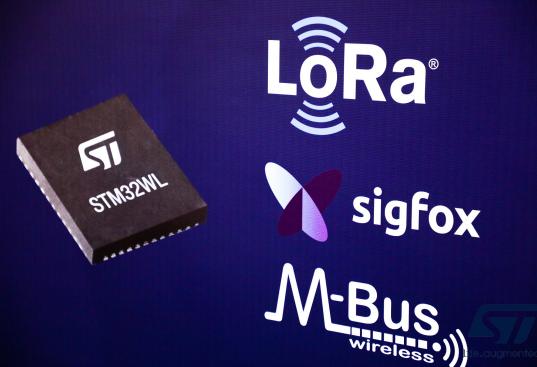 ST推出全球首款長距離無線通信的MCU STM32WL LoRa芯片
