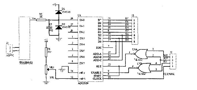 模数转换芯片ad7810的原理及应用_模数转换电路图