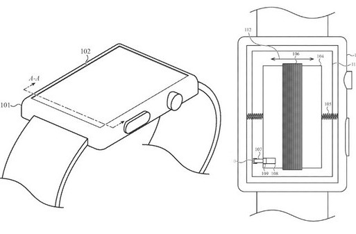 """苹果最新申请""""移动电池触觉装置的便携式电子设备""""专利"""