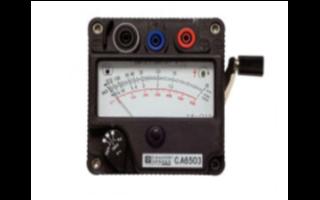 6503手摇绝缘表的功能特点及应用范围