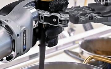 英国机器人公司Moley Robotics发明了世界上第一个机器人厨房
