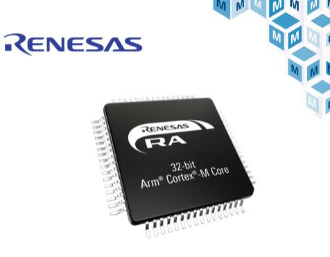 贸泽电子开售带触摸感应接口的Renesas RA2L1 MCU产品群