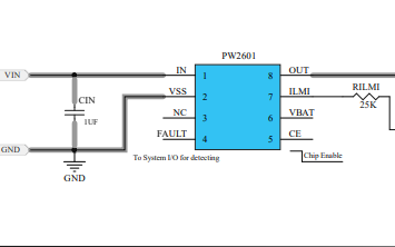 PW2601充电器前端集成电路的数据手册免费下载