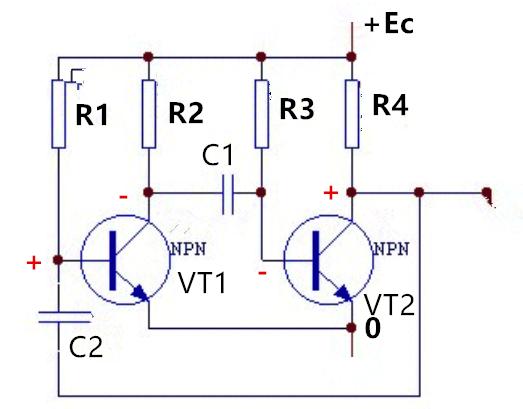 反相器组成的振荡电路分享