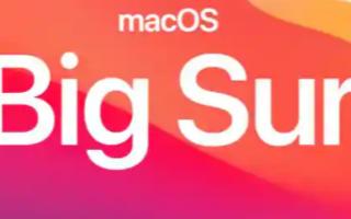 苹果已经发布了macOS Big Sur 11.2的第二个候选版本