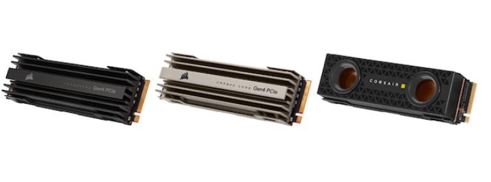 海盗船发布三款PCIe 4.0固态硬盘