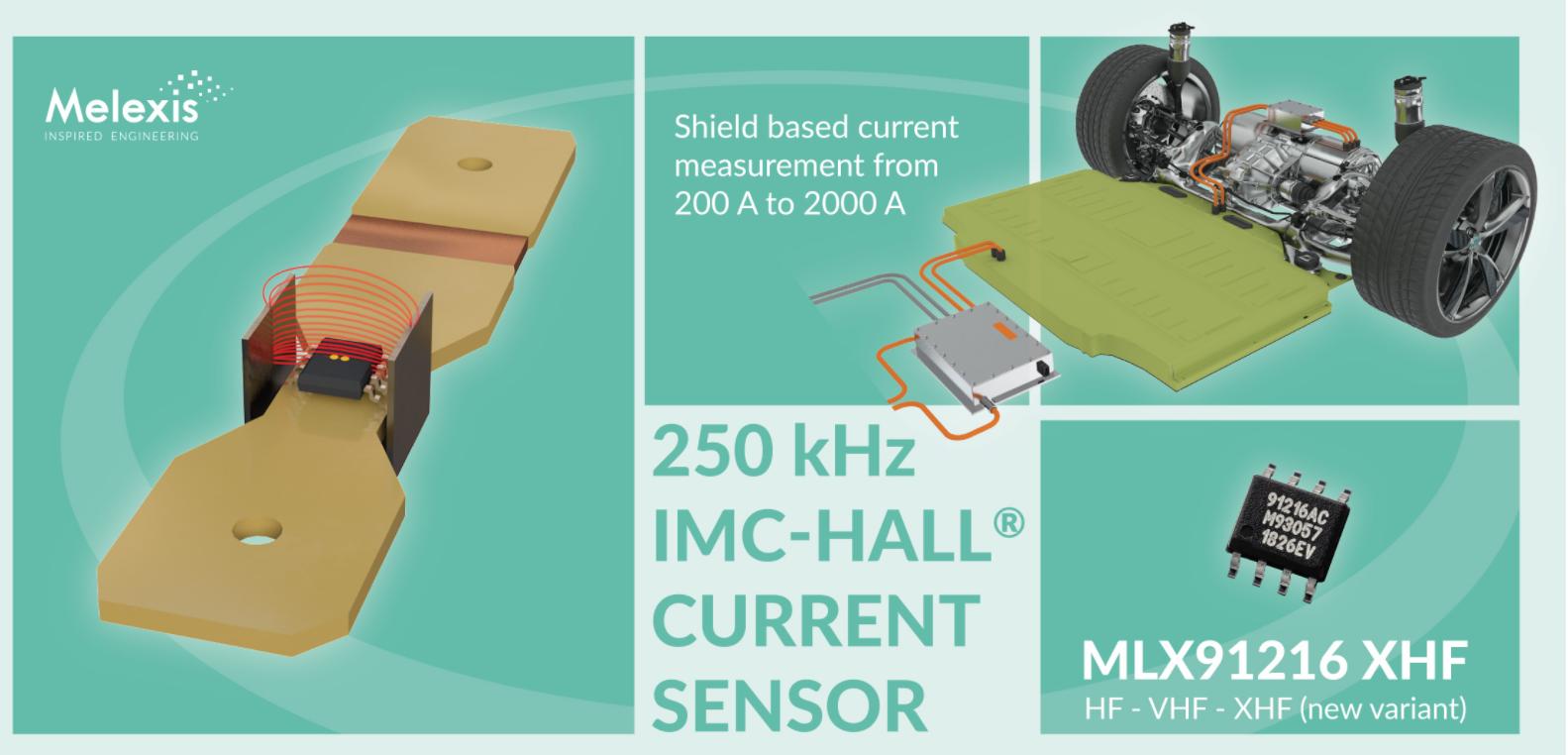 Melexis 推出新款测量范围超 2000A 的IMC-Hall? 电流传感器芯片