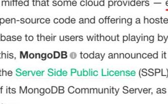 """云厂商和开源社区之间的""""冲突""""再一次爆发:Elastic修改开源协议"""