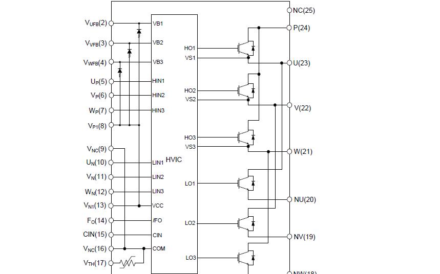 XNS15S72F6智能功率模块的用户手册免费下载