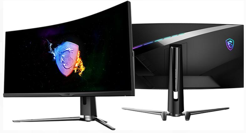 微星发布34英寸曲屏游戏显示器