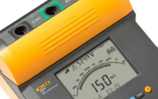 Fluke1550绝缘电阻测试仪的功能特点及应用...