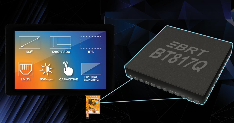 Bridgetek最新的高分辨率EVE芯片应用于光电制造商Riverdi的显示器模组