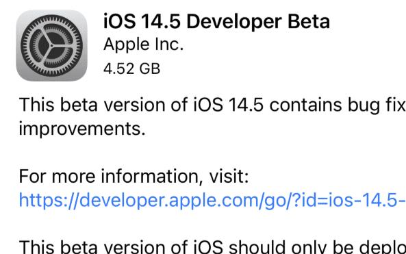 iOS 14.5更新:支持戴口罩解锁,Bug有哪...