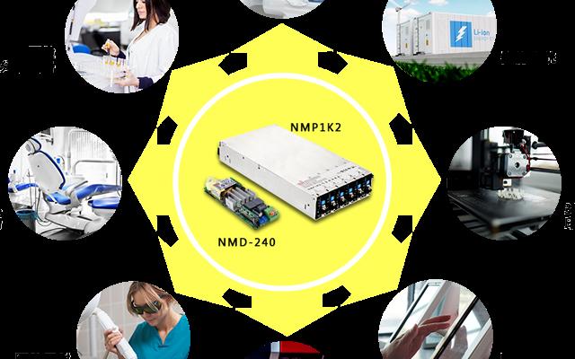 明纬模块电源产品线NMP系列