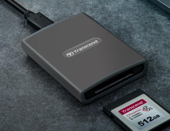 创见推Type B存储卡和USB读卡器