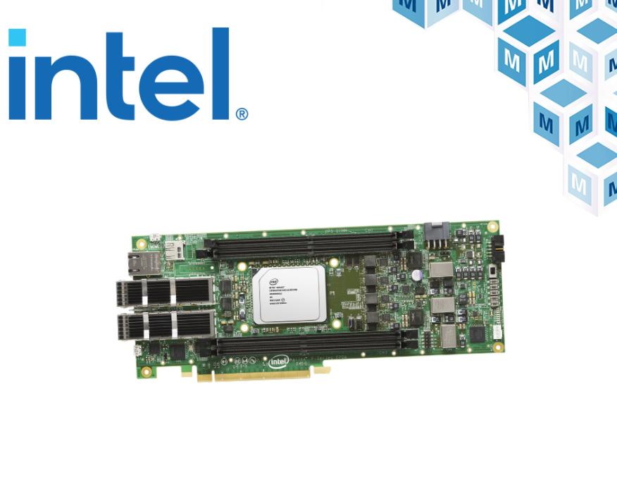 贸泽开售用于PCIe 4.0 设计的Intel ...