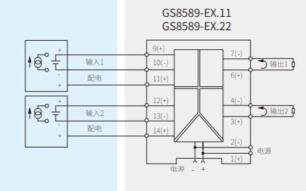 GS8589电压信号输入隔离式安全栅的数据手册免费下载
