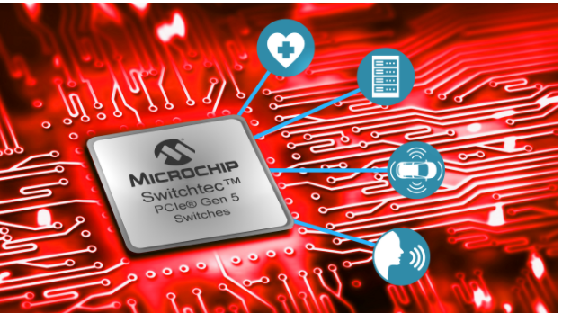Microchip发布世界首款PCI Express® 5.0交换机,加速机器学习和超大规模计算基础设施发展