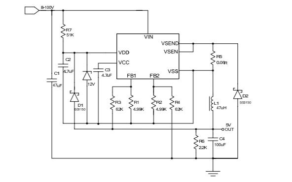 HM3133开关降压型DCDC芯片的数据手册免费下载