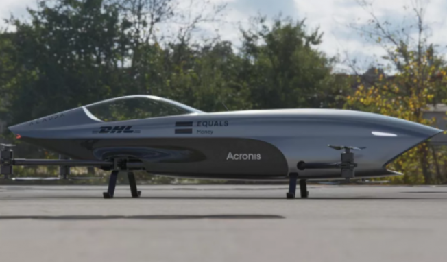 Airspeeder已完成电动飞行赛车