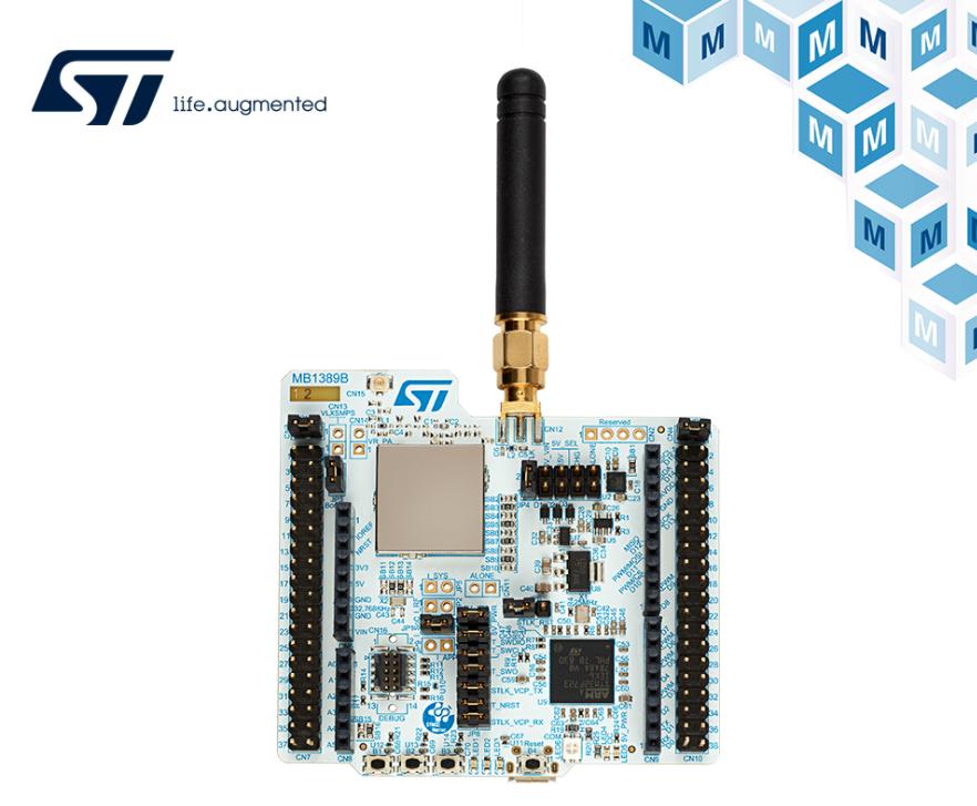 贸泽电子开售ST STM32WL Nucleo-64开发板,支持全球第一款LoRa Soc