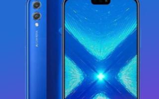 华为将为Honor 8X智能手机发送新的软件更新
