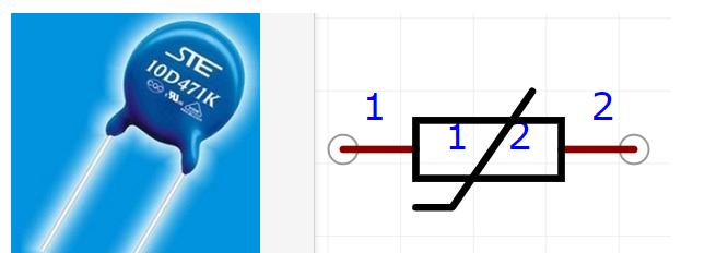 壓敏電阻的工作原理/作用/基本參數/應用電路