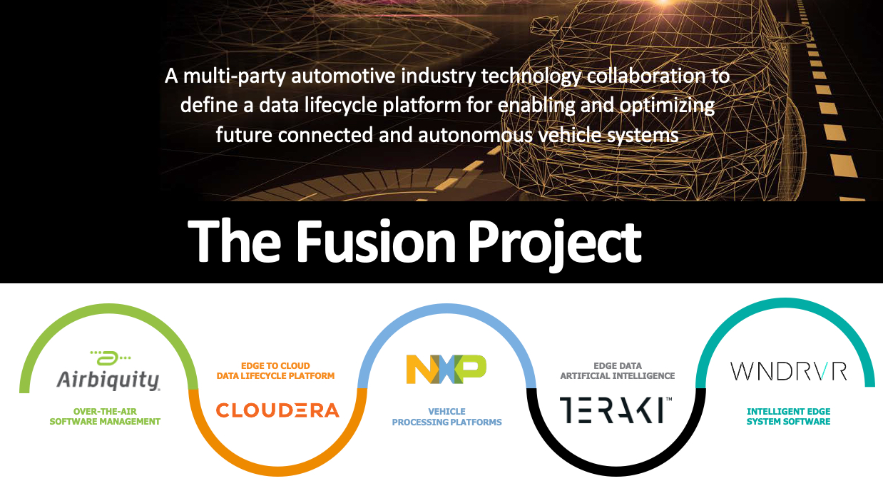 Fusion Project致力于推动互联和自动驾驶汽车的数据管理
