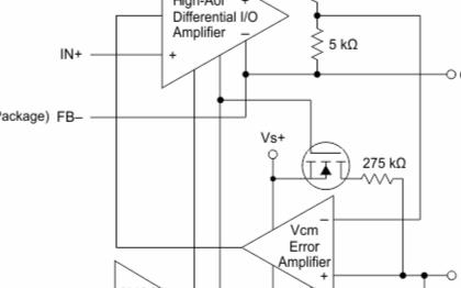 低功耗全差动放大器THS452x系列的特点及应用范围