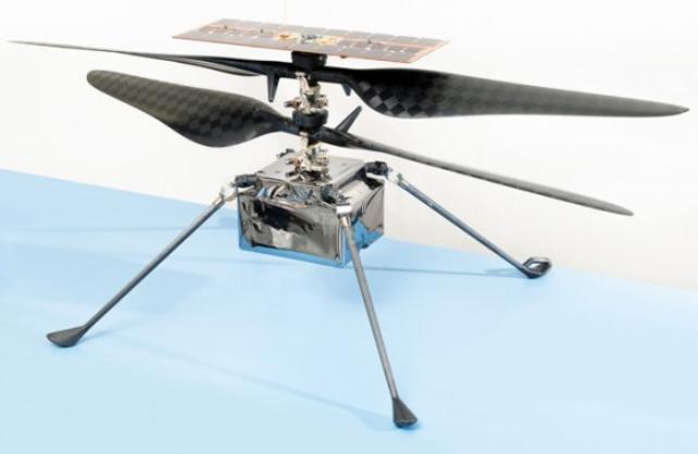 美国毅力号已将直升飞机带上火星