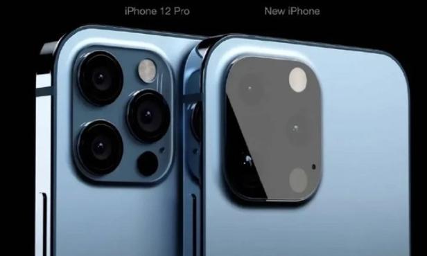 iPhone 12s后置相机采用纯平式镜面设计