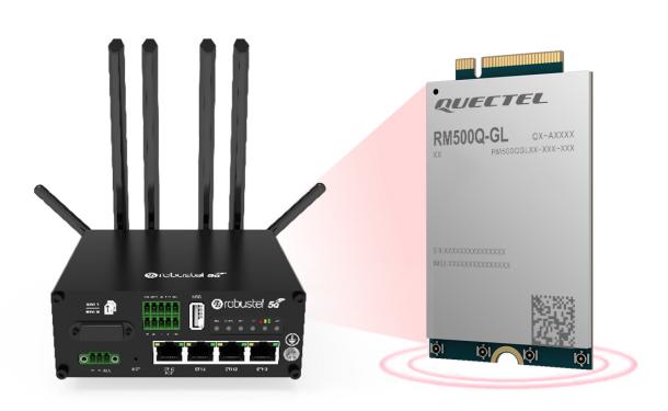 搭载移远通信5G模组的鲁邦通工业级5G网关正式商...