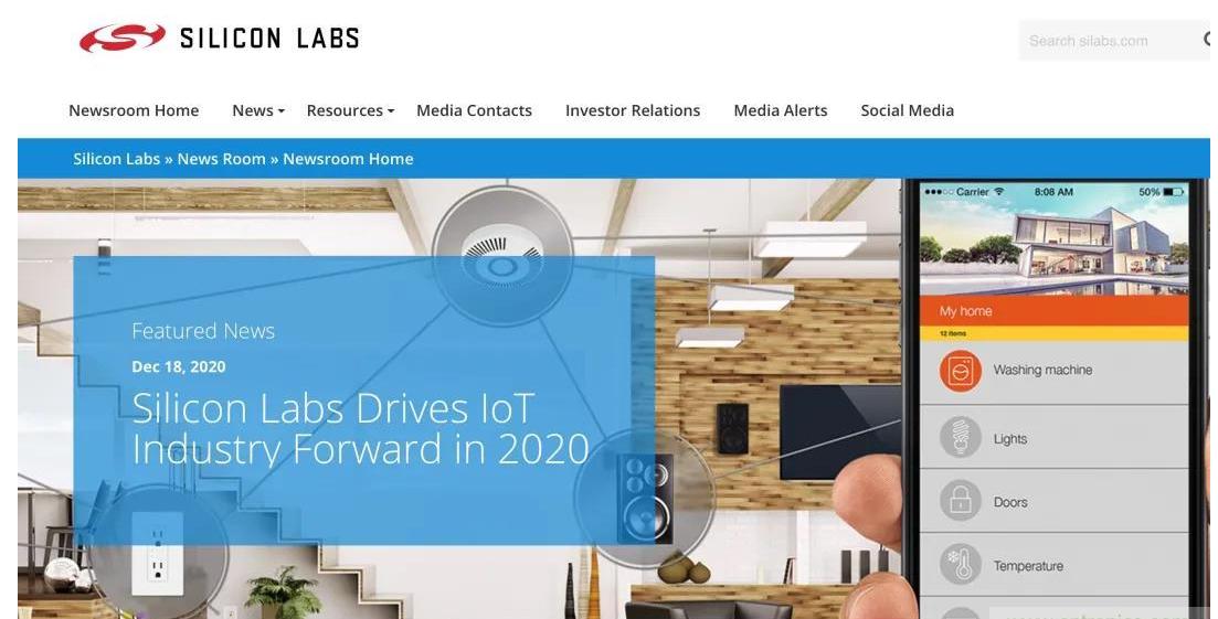 Silicon labs考虑出售其模拟芯片业务 目前尚未就交易作出最终决定