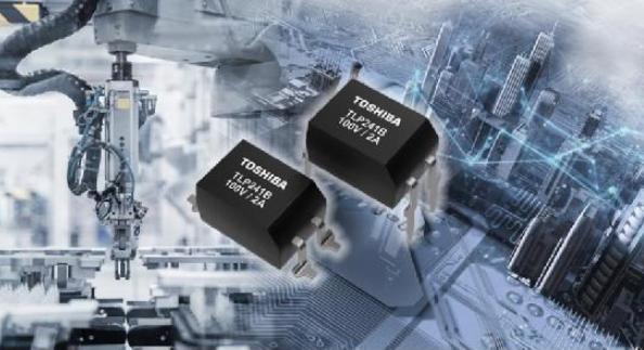 东芝推出适用于工业设备的100V大电流光继电器