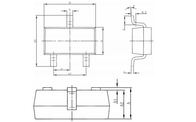 HM2300 N沟道增强型功率MOSFET的数据手册免费下载