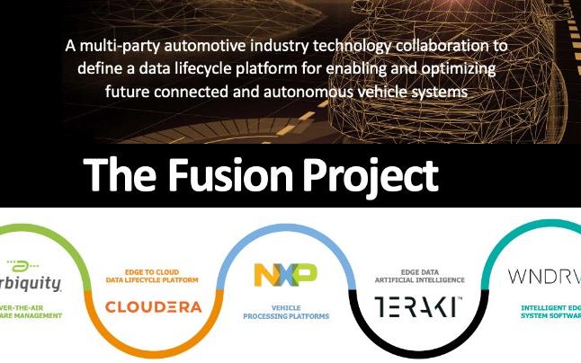 FusionProject致力于推动互联和自动驾驶汽车的数据管理