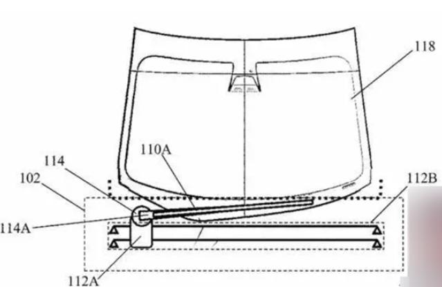 特斯拉新专利有望解决车玻璃刮不干净难题