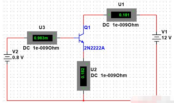 三极管直流增益hFE及输入特性曲线