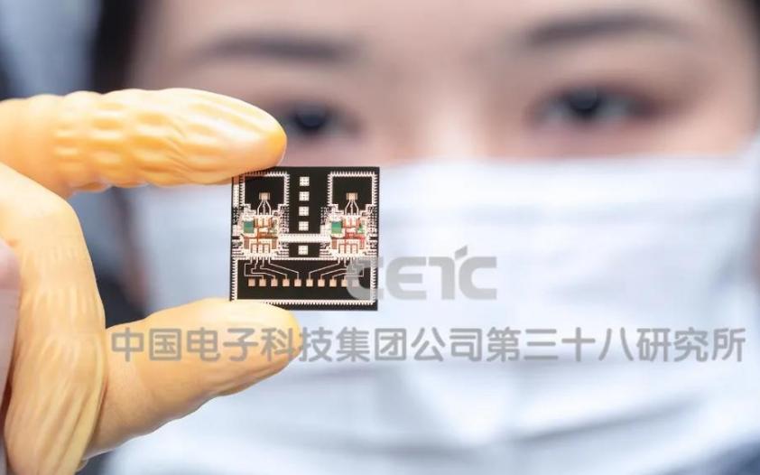 中国电科38所毫米波芯片刷新国际新纪录