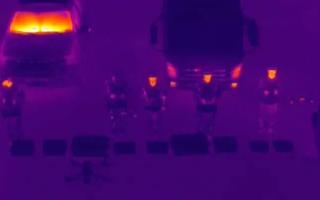 毕节消防救援支队无人机编队进行夜间训练夯实无人机编队实战效能