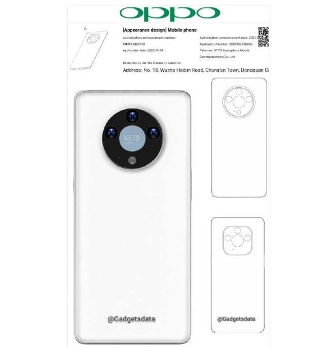 OPPO新专利:或在手机摄像头模块中加入显示屏