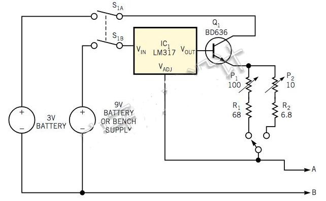 基于LM317可调稳压器的毫欧表构建方案