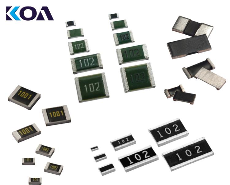 e络盟供货KOA系列高品质无源元件