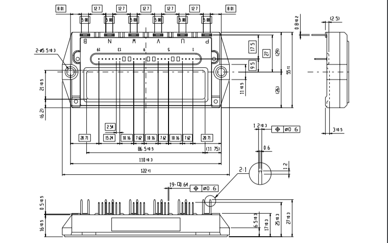 富士IGBT-IPM的应用手册详细资料说明