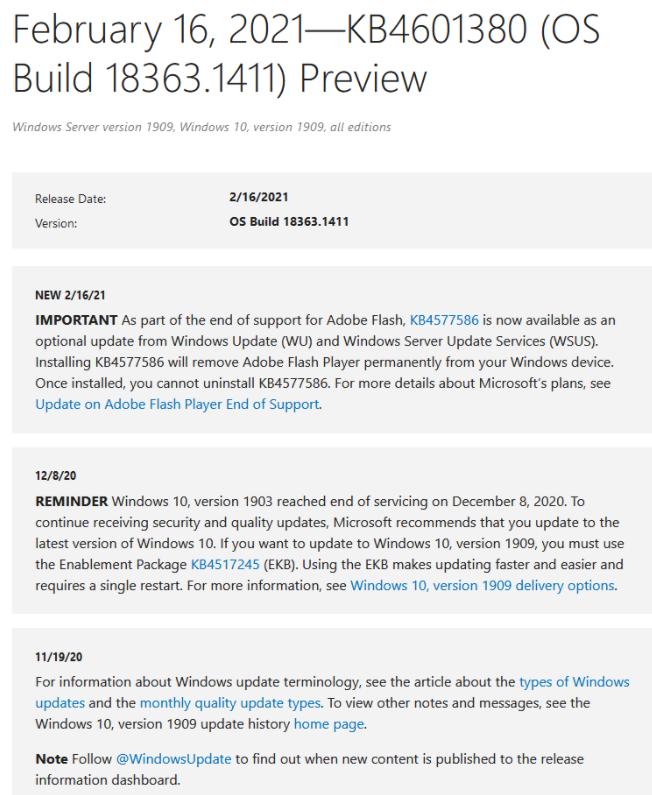 微软为win10用户推杀手更新服务
