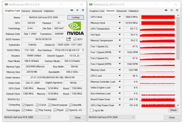 显卡工具GPU-Z 2.37.0版发布
