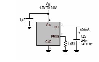 UN8HX独立线性热调节锂离子电池充电器的数据手册免费下载