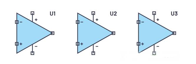 浅谈模拟技术中三角形的使用区别及注意事项