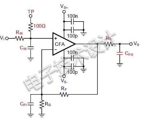 最大限度降低寄生电容对放大器稳定性影响的三种方案