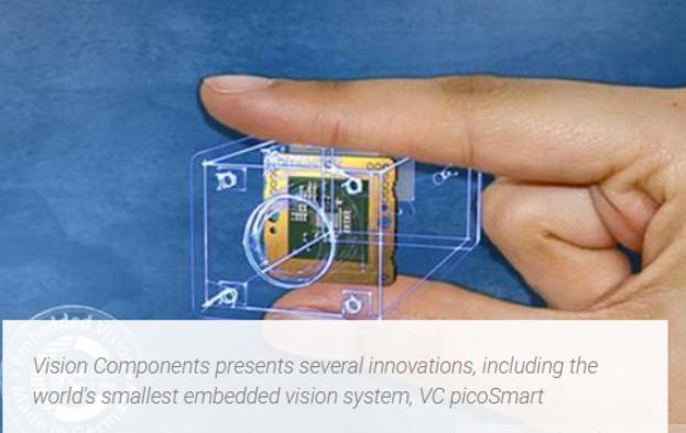 Vision Components发布世界上最小的嵌入式视觉系统